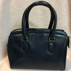 Coach Vintage Navy Sutton Satchel